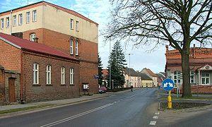 Wieleń - Center of the town