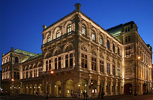 Viena: Wiener Staatsoper abend