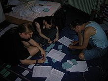 Wikimania 2005 programme creation 2.jpg