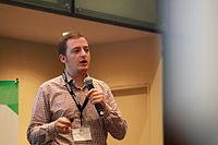 Wikimania 2015 - Joe Sutherland 20.jpg