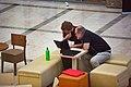 Wikimedia Hackathon Vienna 2017-05-19 lounge 021.jpg