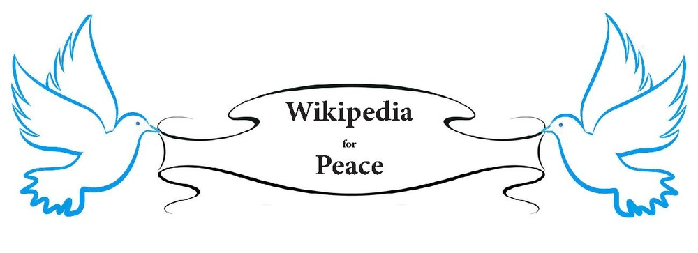 Wikipedia for Peace Project banner