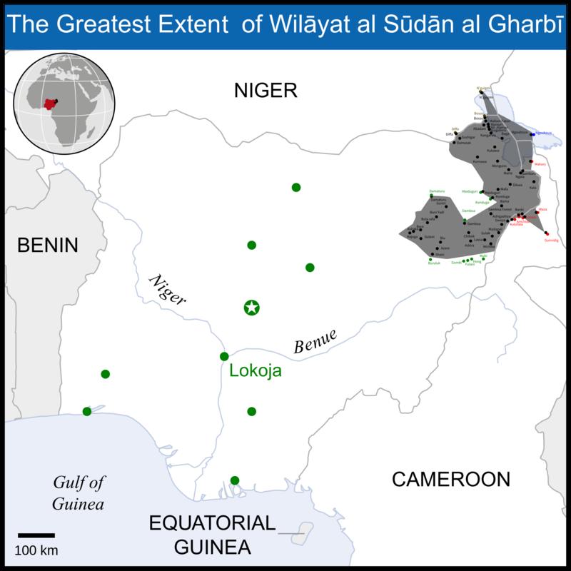 تنظيم الدولة: من صخب الشرق الأوسط إلى أدغال أفريقيا 800px-Wilayat_al_Sudan_al_Gharbi_maximum_territorial_control