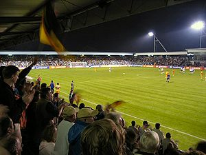 Wilhelmshaven - The Jadestadion, the stadium of SV Wilhelmshaven