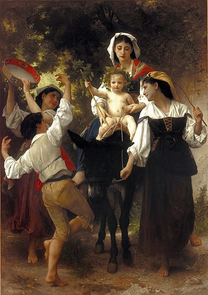 Fichier:William-Adolphe Bouguereau (1825-1905) - Return from the Harvest (1878).jpg