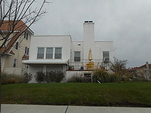 National Register of Historic Places listings in Hempstead (town), New York - Image: William Barkin House; Long Beach, NY 3