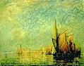 William Gedney Bunce - Sunset, San Giorgio, Venice - 1909.7.10 - Smithsonian American Art Museum.jpg