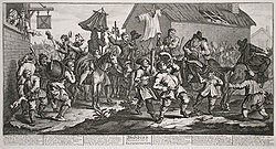 William Hogarth. Hudibras Encounters the Skimmington.jpg