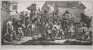 Charivari - Image: William Hogarth. Hudibras Encounters the Skimmington