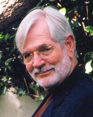 William John Cox - William John Cox in his garden (2004)