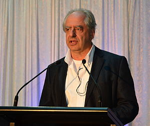 William Kentridge - William Kentridge at exhibition opening at ACMI in Melbourne, Australia