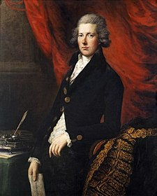 Gainsborough: William Pitt, ca. 1788