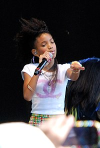 Willow performing at the White House Easter Egg Roll in 2011.jpg