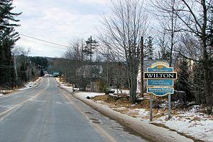 Wilton, Maine - Image: Wilton ME
