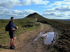 Win Hill - The approach to Win Hill Pike