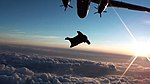 Wingsuit Catching Flight at Sunset (6367632545).jpg