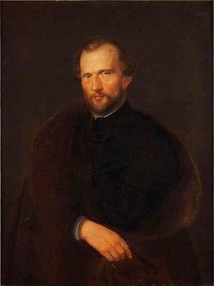 Historical Museum of Kraków - Portrait of Mikołaj Zyblikiewicz by Wojciech Stattler, at the Historical Museum of Kraków