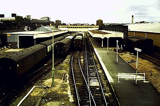 Oxford, Worcester and Wolverhampton Railway - Wolverhampton Low Level Station