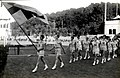 Women's World Games 1926 Swedish team marching.jpg