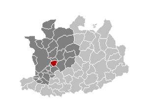 Wommelgem - Image: Wommelgem Locatie