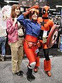 WonderCon 2012 - Kaley from Firefly, Nomad, and Captain Deadpool (6873504472).jpg