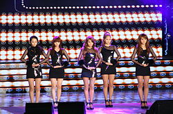 Wonder Girls in 2011 Korea Entertainment Awards.jpg