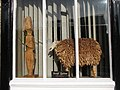 Wooden sheep, Woodburn House, Hill Street - geograph.org.uk - 1592438.jpg