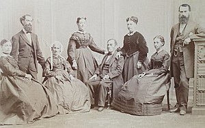 Robert James Harlan - Van Loo's photograph of the Workum family, possibly from the 1860s