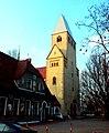 Wrocław - Brochów, kościół św. Jerzego Męczennika i Podwyższenia Krzyża Świętego.jpg