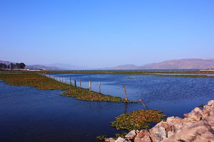 Xingyun Lake - Image: Xingyun Lake in Jiangchuan, Yunnan, China