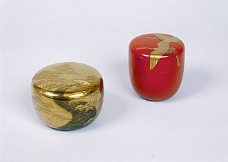 Ishikawa Prefecture - Kanazawa lacquerware (Kanazawa shikki) is high quality and traditionally decorated with gold dust.