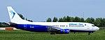 YR-BAR - Blue Air - Boeing 737-400 (34955353806).jpg