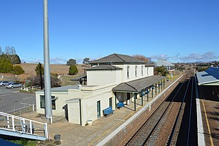 Yass Junction railway station