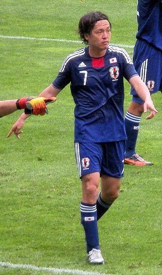 Yasuhito Endō - Endō playing for Japan in 2010