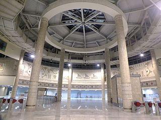 Yenikapı Transfer Center new Istanbul Metro and Marmaray station