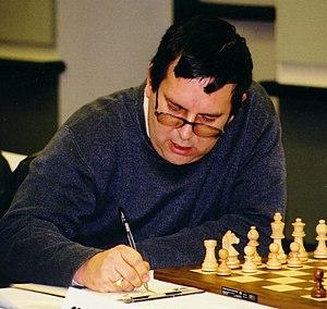 Alex Yermolinsky - Alex Yermolinsky at the 2003 U.S. Chess Championships in Seattle, Washington