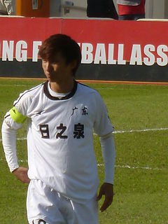 Yin Hongbo Chinese footballer