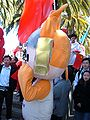 Yingying at 2008 Olympic Torch Relay in SF 1.JPG