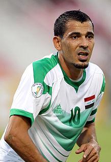Younis Mahmoud Iraqi footballer