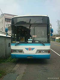 Yuanlin Bus 695-FT head 20130929.jpg