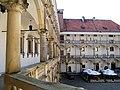 Zamek w Brzegu,tarasy wokół dziedzińca.sienio.JPG