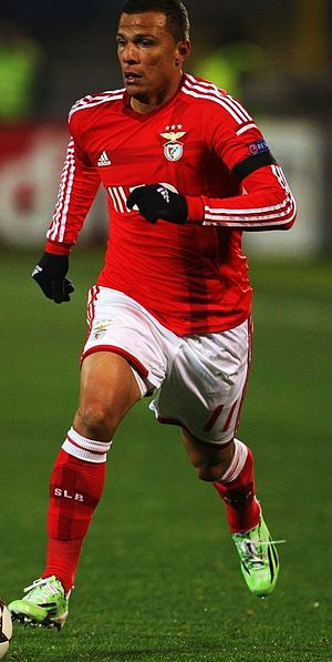 Lima (footballer) - Lima playing for Benfica in 2014