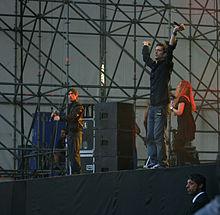 Zero Assoluto in concerto nel 2007.