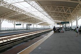 Zhuhai North Railway Station Platform.jpg
