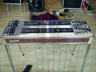 Steel guitar - Pedal steel guitar.