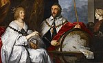 """The Madagascar Portrait of Thomas Howard and His Wife Aletheia Talbot"" (Anthony van Dyck).jpg"