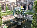 """The Water of Life"" sculpture in Chester Cathedral cloister garth (13).JPG"