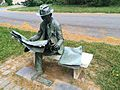 ''Newspaper Reader'' by J. Seward Johnson Jr. (1975).jpg