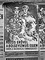 'Közös erővel a bolsevizmus ellen Európa és Magyarország fennmaradásáért!' Plakát, 1944. Fortepan 72669.jpg