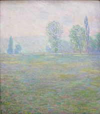 'Meadows at Giverny' by Claude Monet, 1888, Hermitage.JPG